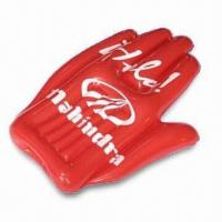 Best 41 x 80cm Inflatable Hand, Made of PVC, Suitable for Promotional Purposes wholesale