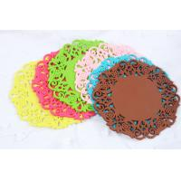 Best 100% food grade  silicone cup mat wholesale