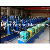 Q235 Raw Material Storage Rack Roll Forming Machine With 45° Beveling