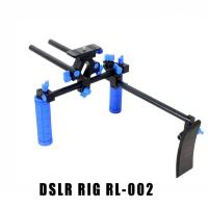 Best Camera Rig Set Shoulder Support(double handle) for DSLR EOS 60D 1D 1/4'' 5D II wholesale