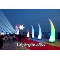 Best 4m Inflatable Light Cone with Plastic Blower for  Big Event and Show wholesale