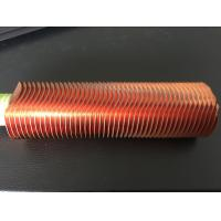 Best CuNi 90/10 Shape Type Heat Exchanger Fin Tube OD25.4 X 1.5WT L Finned Copper Tubing wholesale