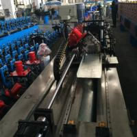 China Gear Box Steel Ceiling Roll Forming Machine for purlin Cassette Type on sale