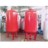 Cheap Excellent Sealability Diaphragm Pressure Tank , Pressurized Water Storage Tanks for sale