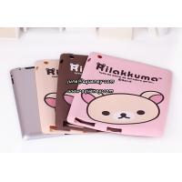 Best New arrival Rilakkuma soft silicon shell case for ipad 2, good quality soft case for Ipad2 wholesale