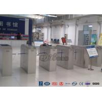 Best 2 Ways Outdoor Flap Barrier Gate Barcode System Controlled Access Turnstile wholesale