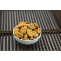Split Dried Spicy Crispy Broad BeansSize Sieved Yellow Color Coated Seasoning