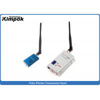 Best Lightweight FPV Video Transmitter and Receiver Mini Wireless Video Sender with 1200MHz 5000mW wholesale