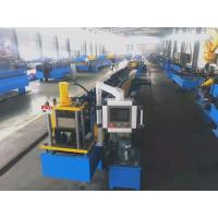 Best High Capacity Downspout Pipe Roll Forming Machine Automatic Control Hydraulic Cutting Type wholesale