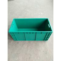 China Virgin Impact - Resistance Polyethylene Euro Stacking Containers 800*400 mm For Divider Storage And Transportation on sale