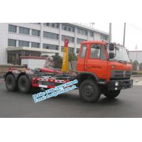 Cheap Hydraulic oil cylinder controlled orange color Dongfeng 6x4 20 ton used hook for sale