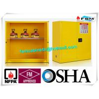 Best Fire Proof Outdoor Chemical Storage Cabinets , Gas Cylinder Safety Cabinets wholesale