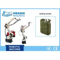 Best Precise Aluminum Plate Tig Automatic Welding Robot 6 Axis For Stacking / Transporting wholesale