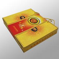 China Shopping Custom Printed Paper Bags Printing Services For Gift , Moon Cake Box on sale