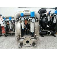 China Stainless Steel Air Driven Diaphragm Pump Pneumatic for Printing on sale