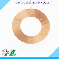 Cheap Rfid Antenna Copper Air Cored Coil / Hollow Coil 0.2mm Copper Wire Winding for sale