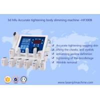 China 3d hifu accurate tightening body slimming facial lifting beauty machine - hf 300v on sale
