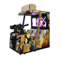 Best 42 Inches 1-2 Players Shooting Game Machine For Theme Park / Shopping Mall wholesale