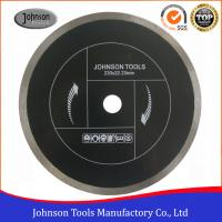Best 230mm Diamond Sintered Continuous Rim Ceramic Tile Saw Blades For Cutting Tile And Ceramic wholesale