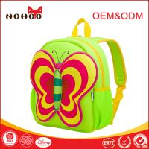 Best Durable Beautiful Zipper Back To School Backpacks Kids Logo Print wholesale