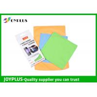 Best Smart Phone Touch Screen Cleaning Cloth , Microfiber Lens Cleaning Cloth wholesale