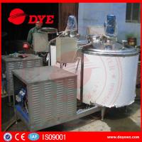 Best CE Approved Stainless Steel304 refrigerated milk tank milk chilly Machine wholesale