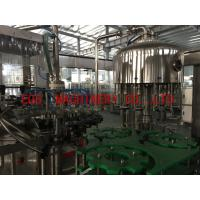 Best 2 in 1 Grape Wine 750ml Bottle Filling Machine With Aluminum Cover Sealing Equipment wholesale