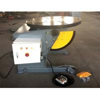 Quality Rotary Table Welding Positioner 0-120dgr tilt 1300mm Dia Precision Gearbox wholesale