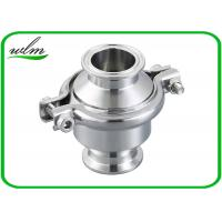 Best Portable Clip - On Sanitary Check Valve With Clamp Connection End , Finely Finished Surface wholesale