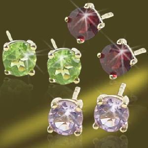 Best 925 Sterling Silver/Brasscz Stud Earring (ESH3273A) wholesale