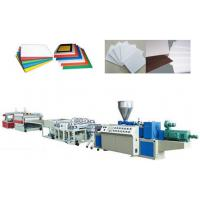 Best PVC Crust Foam Plastic Sheet Extrusion Line Automatic Haul off unit wholesale
