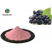 China Black Currant Juice Concentrate Powder , Food Supplement Blackcurrant Powder on sale