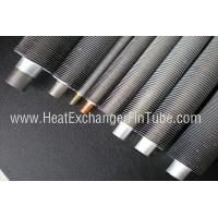 Quality B338 Gr. 2 SMLS Titanium Tube , Spiral Aluminum Extruded Fin Tube 1.245mmWT wholesale