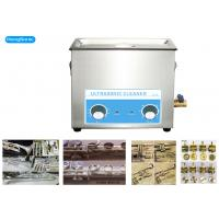 Best 300W 6.5L Mechanical Ultrasonic Cleaner For Musical Brass Instrument wholesale