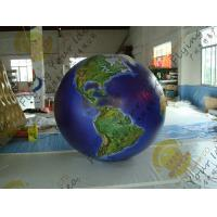 Best Waterproof Earth Balloons Globe , Large Inflatable Advertising Balloons wholesale