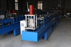 Best Guide Rail 20 Stations Door Frame Roll Forming Machine wholesale