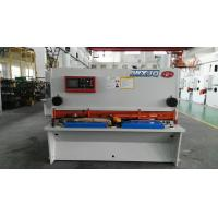 Best Hydraulic Drive H13 / D2 Balde NC Guillotine Shear For Thick Steel Cutting wholesale