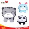 Buy cheap OEM waterproof children school bag Grey cute cat Pattern Neoprene Material from wholesalers
