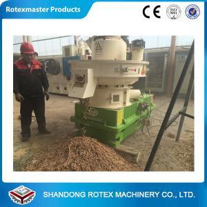 Best 1-1.5 Ton / H Capacity Biomass Pellet Machine Complete Wood Pellet Production Line wholesale
