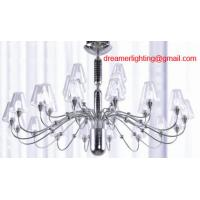 Best 28 lights traditional High quality modern glass chandelier wholesale