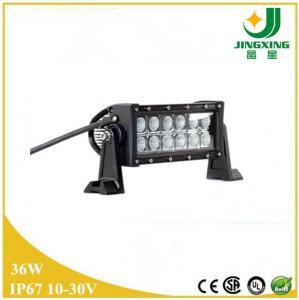 Quality 3D reflector 36w led light bar 3w cree led light bar for car wholesale