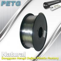 Cheap 1.75 / 3.0 mm PETG Filament 3D Printing Transparent Materials  1.0KG for sale