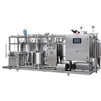 China 250ml Yogurt Processing Line , Small Scale Dairy Production Line  For Gable Top Package on sale