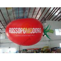 Best 4m Long Plum Tomato Shaped Balloons For Haning / Pop Display / Event Show wholesale