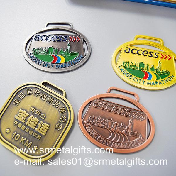 Custom unique metal medals maker in China