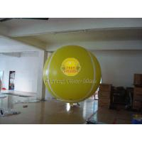 Best Yellow Full Digital Printed Sport Tennis Ball Balloons with 170mm Tether Points for Party wholesale