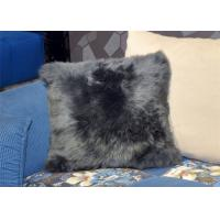 Best Dyed Comfortable Lambswool Seat Cushion Genuine Merino Fur For Keeping Warm wholesale