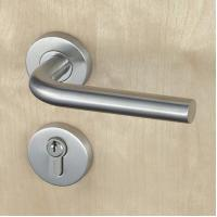 Best Silver SUS304 Stainless Steel Escutcheon Lock Fire Proof For Residential wholesale