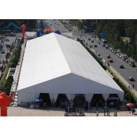 Best A-Frame Large Exhibition Event Tents With Aluminum And PVC Tent Fabric, 20m * 30m Big Canopy wholesale