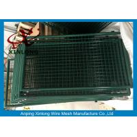 Best Little Space Galvanized Galvanized Fence Gate , Security Fence Gate Europe Style wholesale